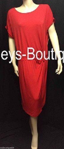 Ellen Tracy Red Dress Size Large Christmas Holiday Seasonal Versatile NWT #EllenTracy #christmasdress #holidays