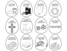 resurrection eggs story coloring pages - photo#5