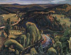 OTTAWA VALLEY by Arthur Lismer