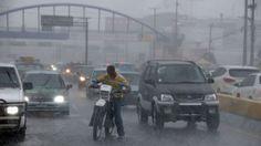 Lluvias torrenciales protagonizan fin temporada ciclónica en RD; 14 provincias bajo alerta