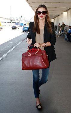 airport wear.