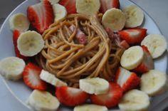 Między Niebem, a Kuchnią...: Spaghetti na słodko