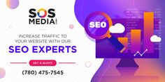 Are you looking for the best SEO company in your area? Then choose SOS Media Corp! We provide a variety of search engine optimization techniques to obtain high-ranking placements in organic search results to our clients. Contact us today to know more about our services! Digital Marketing Services, Social Media Marketing, Service Canada, Best Seo Company, Seo Agency, Search Engine Optimization, Organic, Quotes, Quotations