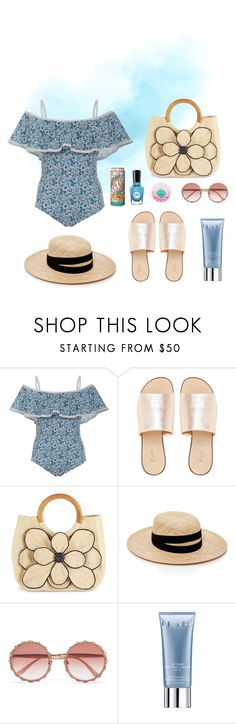 """""""Untitled #174"""" by unconcerned-hobbit ❤ liked on Polyvore featuring Khaite, L.E.N.Y., Mar y Sol, Janessa Leone, Dolce&Gabbana, Orlane and Sally Hansen"""