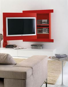 porta tv orientabile, porta tv design