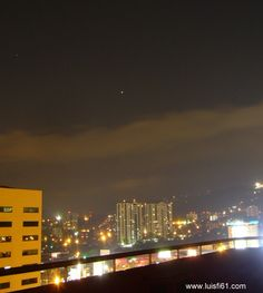 Mars as seen from Guatemala City