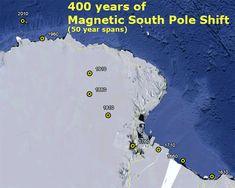 Disso Voce Sabia?: Mudanca nos Polos: Norte muda muito rapido, Polo Sul se arrasta…