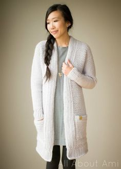 Pattern: The Granite Cardigan | All About Ami | Bloglovin'