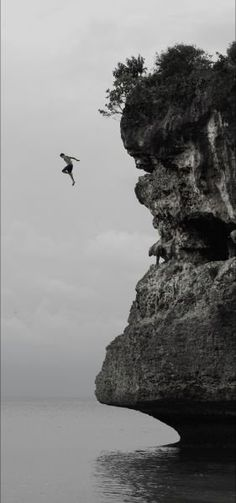 love cliff jumping but would be terrified of this height!