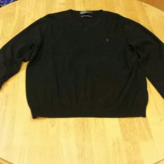 Polo V-neck sweater men's Used Polo by Ralph Lauren Sweaters V-Necks
