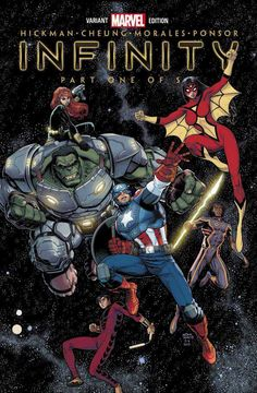 Infinity #1 variant (Issue)
