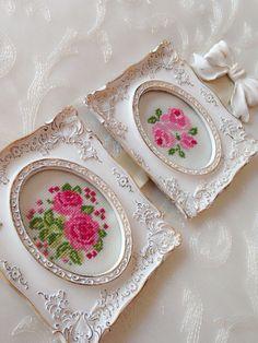 Cross stitch- rose