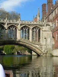 Bridge of Sighs,Cambridge England