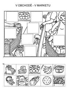 Z internetu - Sisa Stipa - Picasa Web Albums Preschool Worksheets, Kindergarten Activities, Teaching Tools, Teaching Kids, File Folder Activities, Preschool Writing, Animal Crafts For Kids, Hidden Pictures, Math For Kids