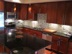Lush Blend Mendocino, 1/2x2 Glass Subway Tile