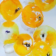 Oranges by cindy phelan