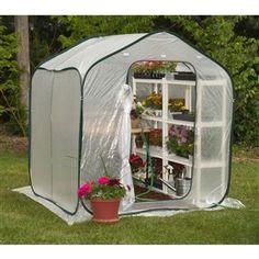 Spring Gardener Flower-House Lightweight Greenhouse (6′ x 6′) 1