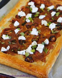 Spring and a Tomato and Three Cheese Tart - Lambs' Ears and Honey | A Food Blog