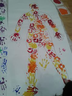 Flame: Creative Children's Ministry: Thinking about the body of Christ