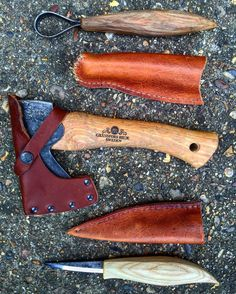 These are the three main carving tools I'd take with me on trips out there are others but they are optional whereas these are a must  1. Hand hatchet by @gransforsbruk (I'd take my small forest axe instead and leave this at home if I'm gonna be processing firewood too)  2. Spoon scorp by @lee.stoffer & @nic_westermann  3. Straight edge slloyd knife by @lee.stoffer & @nic_westermann  #bushcraft #outdoors #photooftheday #survival #woods #woodland #forest #wilderness #nature #handmade #edc…