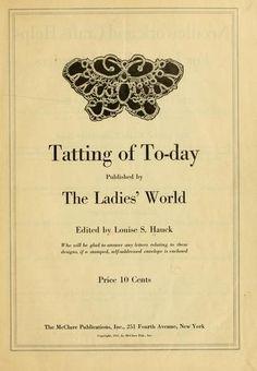 Tatting of Today (free pdf ebook download) #tatted #tat