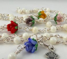 Unbreakable Rosaries St Therese Mother of by unbreakablerosaries, $175.00