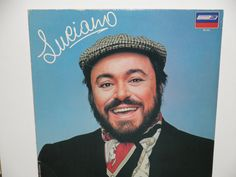Luciano Pavorotti  Luciano Album  London by notesfromtheattic, $8.00