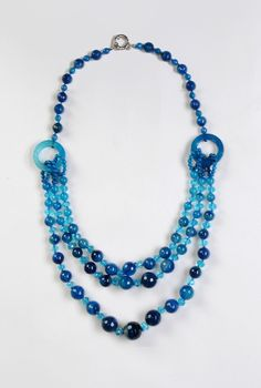 Pretty blue beads