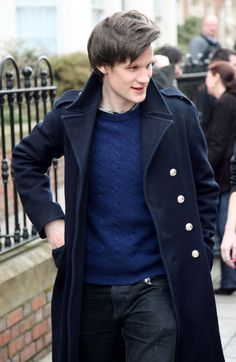 Matt Smith...still cant tell if he is actually attractive or if im just madly in love with a mad man with a box