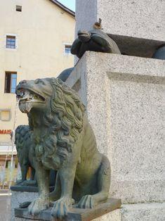 Lion Fountain, Annecy, France Annecy France, Fountain, My Photos, Lion Sculpture, Statue, Art, City, Viajes, Alps