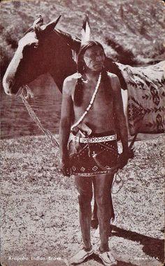 Arapaho man - circa 1920