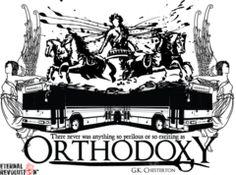 Orthodoxy G.K. Chesterton Shirt