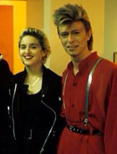 David & Madonna