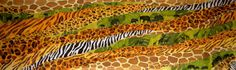 Savanna.Scarfbatik natural silk handwork Africa by ElenaSilkva, $250.00