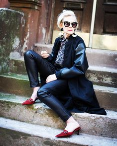 63-ročná profesorka kraľuje internetovému svetu módy - Diva.sk