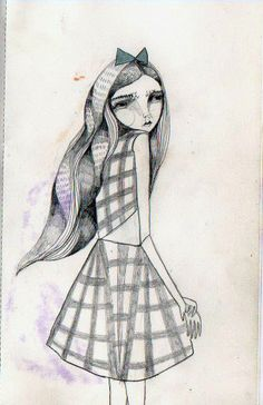 tarrology:  Katy Smail's original character design for (S)mythology.