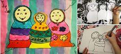 artisan des arts: Matryoshka/Russian nesting dolls - grade 2/3