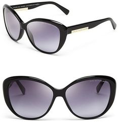 MARC BY MARC JACOBS Oversized Cat Eye Sunglasses #sunglasses #womens #summer