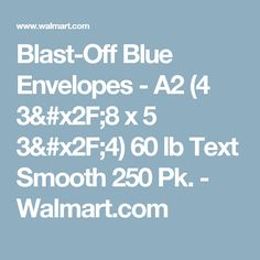 blast off blue envelopes a2 4 38 x 5 3