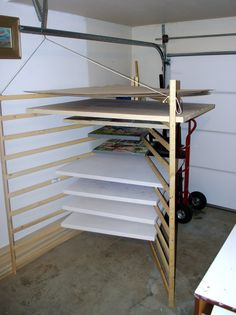 large painting Drying Rack - Google Search