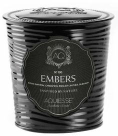 TIN 11oz AQUIESSE Luxury Scented Candles - EMBERS Tin 11oz Aquiesse Portfolio Scented Soy Candle
