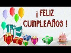 FELIZ CUMPLEAÑOS con frases y imágenes bonitas | HAPPY BIRTHDAY with pretty phrases and images - YouTube