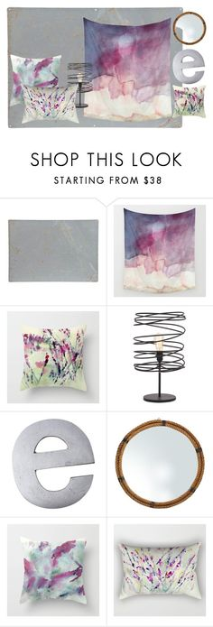 """""""Sprinkle With Purple"""" by rhymingscapes on Polyvore featuring interior, interiors, interior design, home, home decor, interior decorating and Uma"""