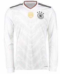 e3586b75 Germany National Team 2017 Home LS White Soccer Jersey [I607] Cheap  Football Shirts,