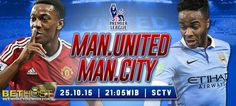 Prediksi Manchester United VS Manchester City 25 oktober 2015 Manchester City, Manchester United, Liga Premier, Old Trafford, Premier League, The Unit, Baseball Cards, Man United