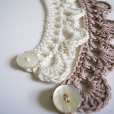 crochet jewelery | Crochet necklaces | TheMakingSpot