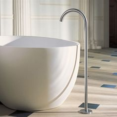 Vola 090FM Freestanding Floor Bath Spout