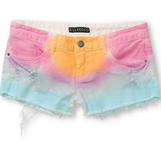 ☀️Billabong Cutoff Shorts - Perfect for Summer! Tie dye low rise cut off shorts, perfect condition. Size 1 PacSun Shorts Jean Shorts