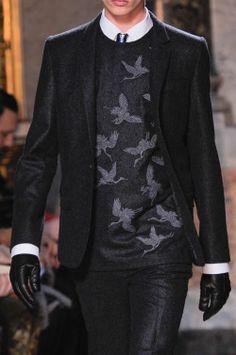 "monsieurcouture: ""Les Hommes F/W 2014 Menswear Milan Fashion Week """