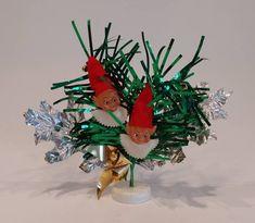Vintage Christmas Elf Decoration - Christmas Elves Holiday Ornament Elf Christmas Decorations, Elf Decorations, Holiday Ornaments, Holiday Decor, Little Christmas, Christmas Elf, Vintage Christmas, Christmas Wreaths, Handmade Shop